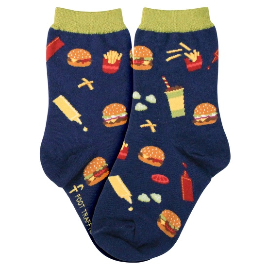 Youth Burgers Socks