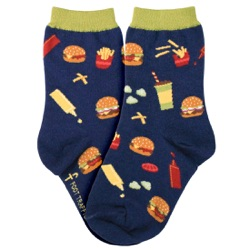 burgers youth socks