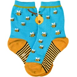 Youth Bees Socks