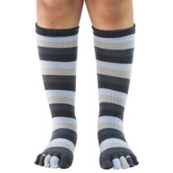 Kid's Denim Stripe Toe Socks
