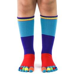 Kid's ColorblockToe Socks