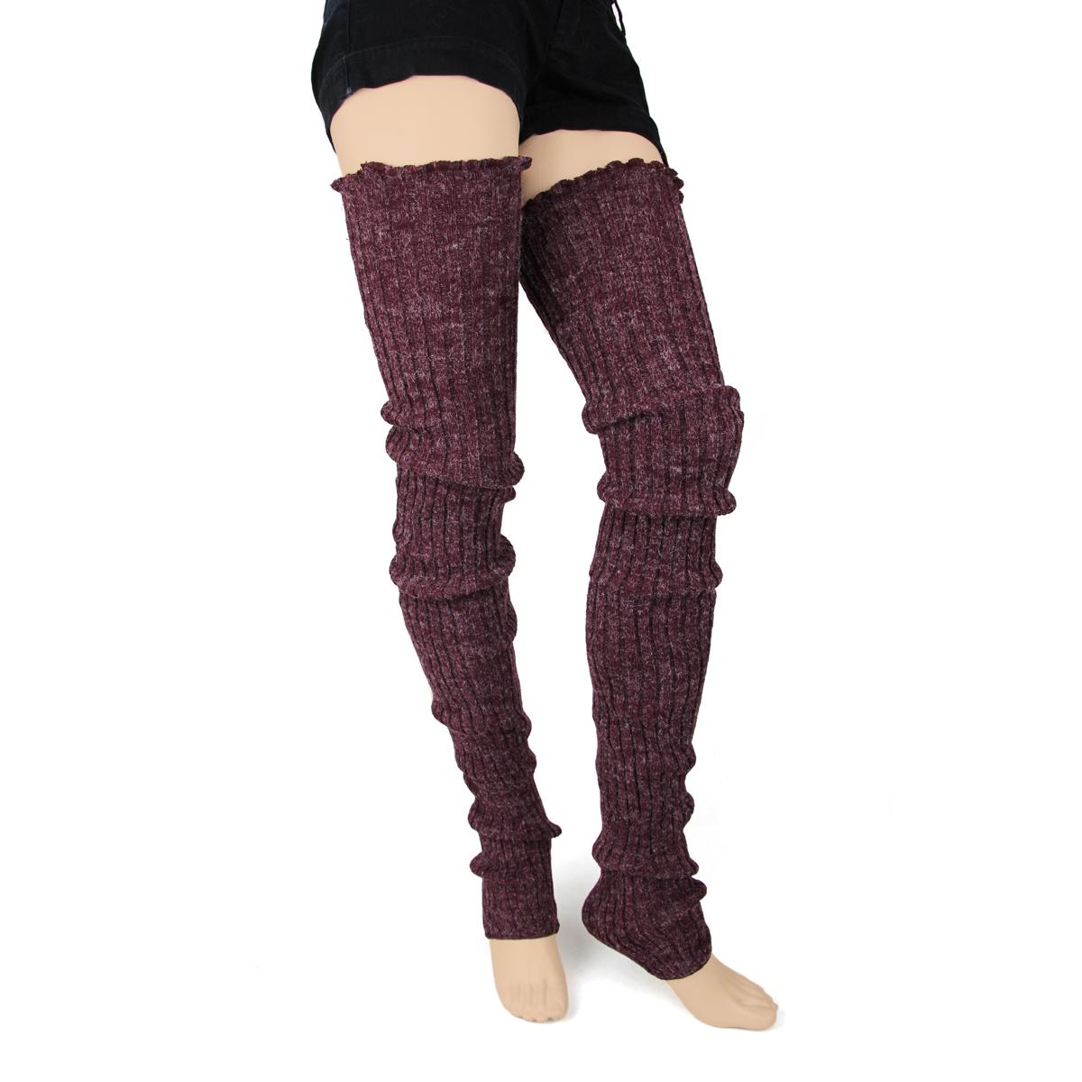 fe3d2c8eb38d4 Super Long Leg Warmers, Legwear: Foot Traffic