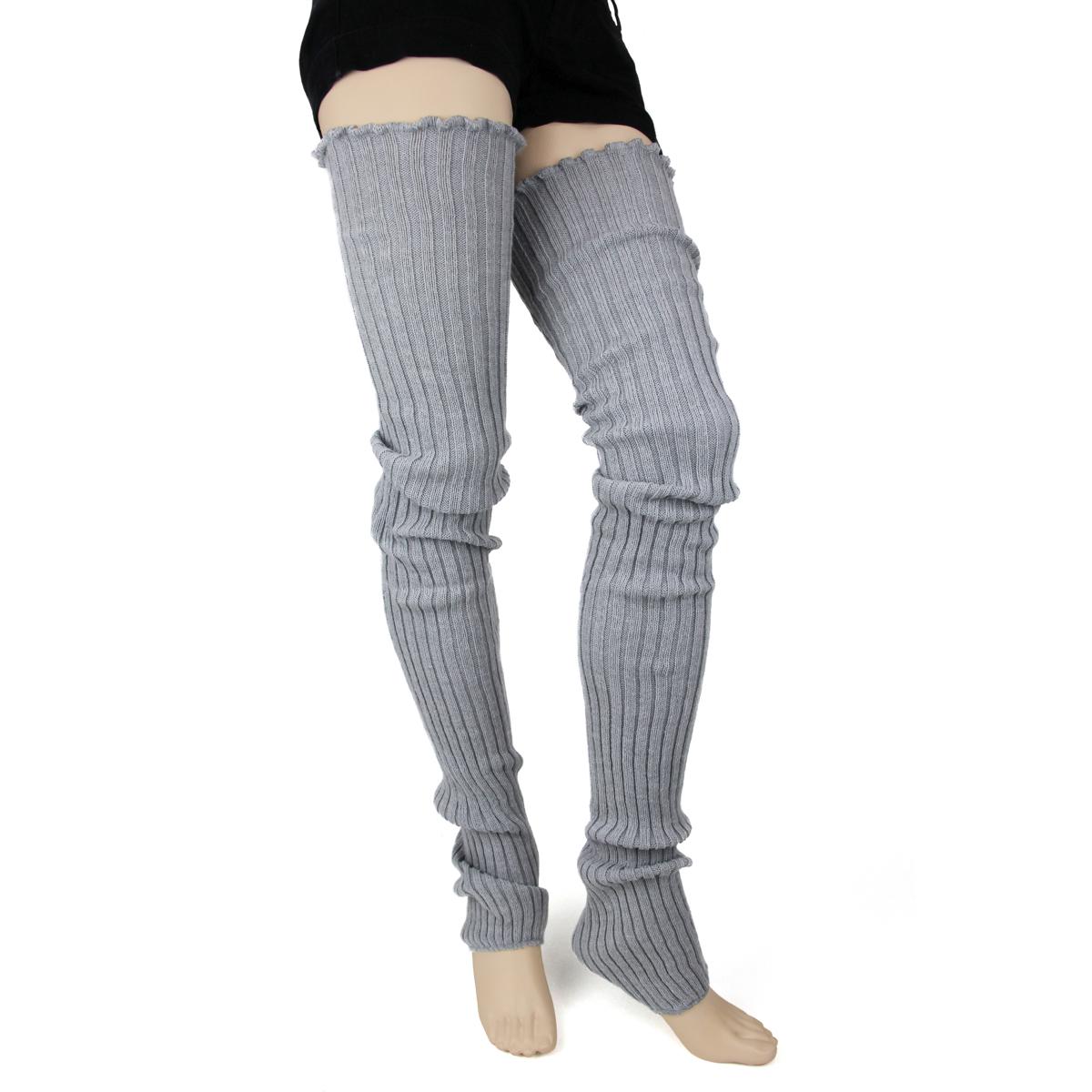 Dance /& Fashion All Cotton Leg Warmers 19 11 Colors