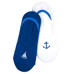 Men's Nautical Low Liners (2 pair pack)