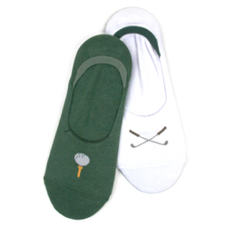 Men's Golf Low Liners (2 pair pack)