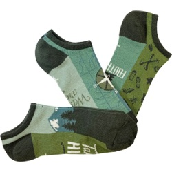 Men's No-Shows Get Outdoors Socks