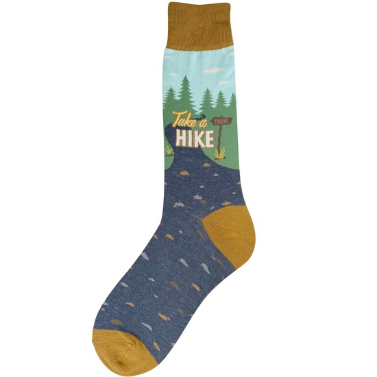 Men's Take A Hike Socks