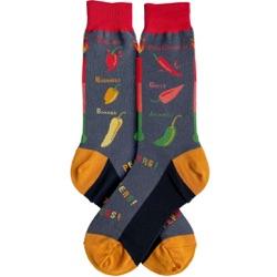 Men's Hottest Peppers Socks