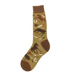 Men's Equine Socks