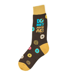 Men's Donut Judge Me Socks