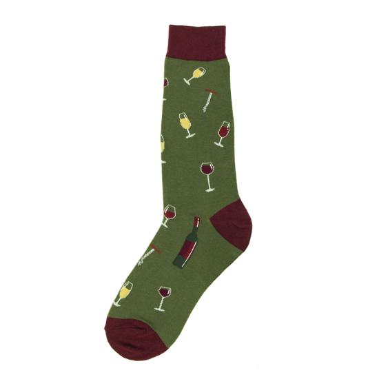 Men's Wine Socks
