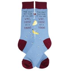 Men's Age Only Matters Socks