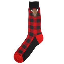 Men's Buffalo Plaid Socks