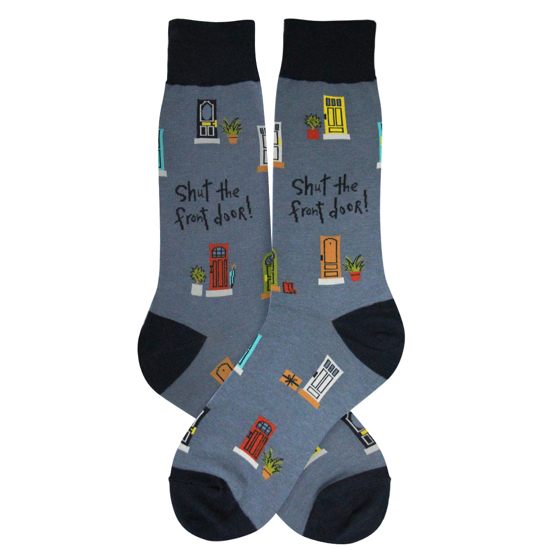 Men's Shut the Front Door Socks
