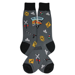 Men's Railroad Socks