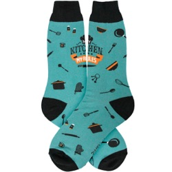 Men's My Kitchen Socks