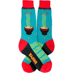 mens ramen foodie socks