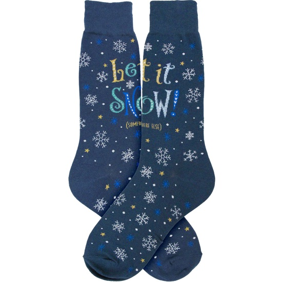 Men's Let It Snow Socks