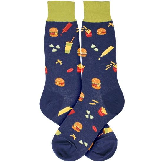 Men's Burger Socks