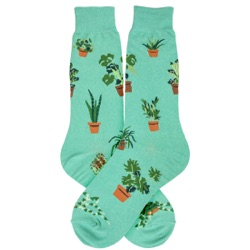 mens houseplants plants socks