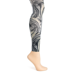 Animal Swirl  Footless TIghts-Large/Tall