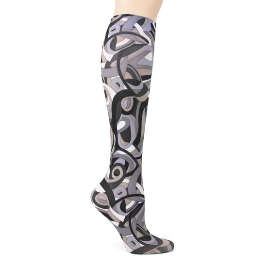 Metro Retro Black Trouser Socks
