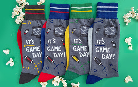 new game day socks for men