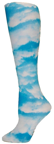 Clouds Tights-Large/Tall