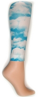 Plus Size Cloud Footless Tights