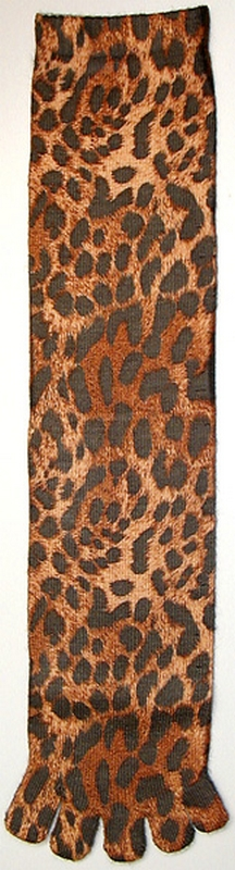 Kid's Leopard Toe Socks