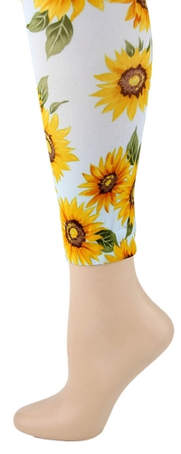 Sunflowers  Footless Tights