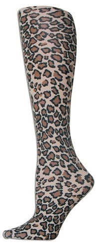 Cheetah Trouser Socks