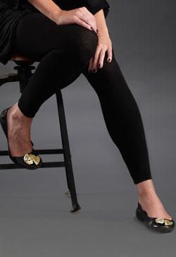 Premium Cotton-Microfiber Leggings