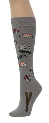 Sushi Knee High Socks