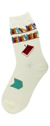 Reading Books Women's Socks