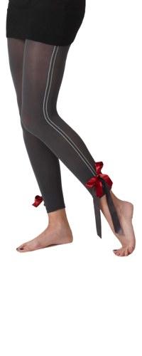 Ribbons & Bows Footless Tights