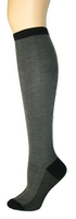 Merino Wool Herringbone Knee High Socks