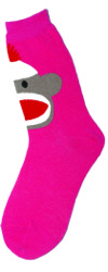 Sock Monkey Women's Socks