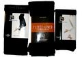 Basic Black Three Pack Footless Tights