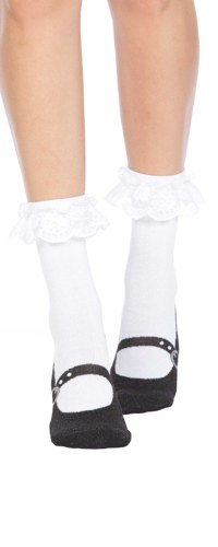 Mary Jane Slipper Socks