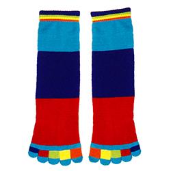 e3cf3bfe9c158 Striped Toe Socks - Put Fun in Your Fashion