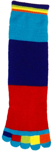 Kid's ColorblockToe Socks