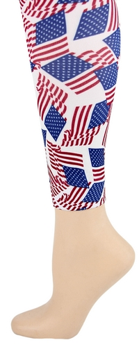 America Footless Tights