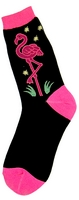 Neon Flamingo Women's Socks