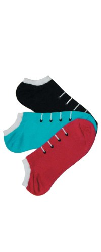 Sneaker No-Shows Socks 3-Pair Pack