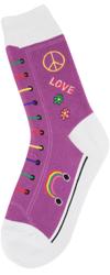 Hippie High Top Women's Socks