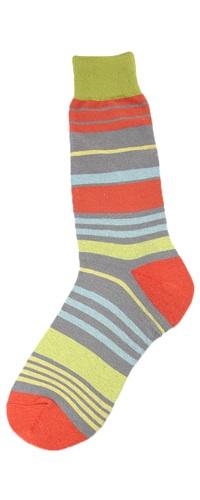 Men's Bright Stripes Socks