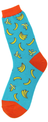 All Over Bananas Women's Socks