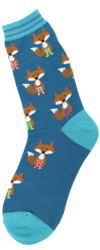 Fox in Socks Women's Socks