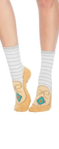 Moccasin Slipper Sock